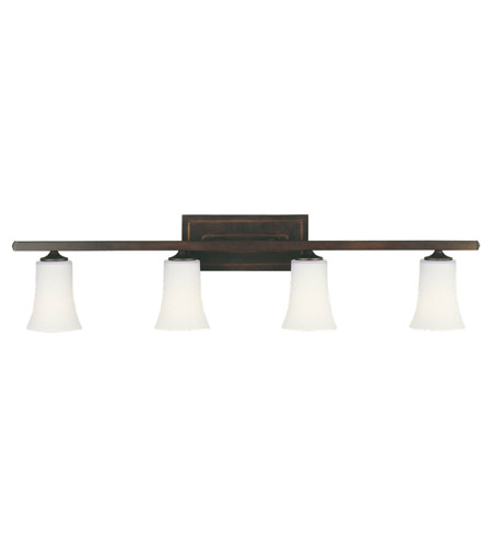 Feiss VS8704-ORB Boulevard 4 Light 36 inch Oil Rubbed Bronze Vanity Strip Wall Light photo