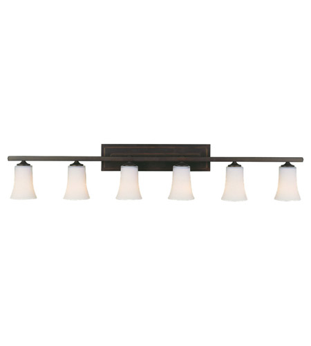 Feiss Boulevard 6 Light Vanity Strip in Oil Rubbed Bronze VS8706-ORB photo