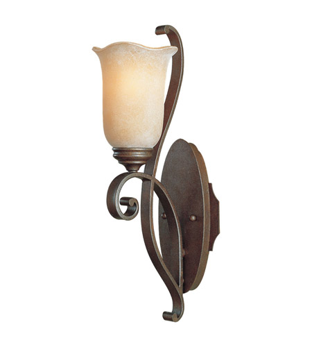 Murray Feiss Wall Sconces: Feiss Tuscan Villa 1 Light Wall Bracket In Corinthian