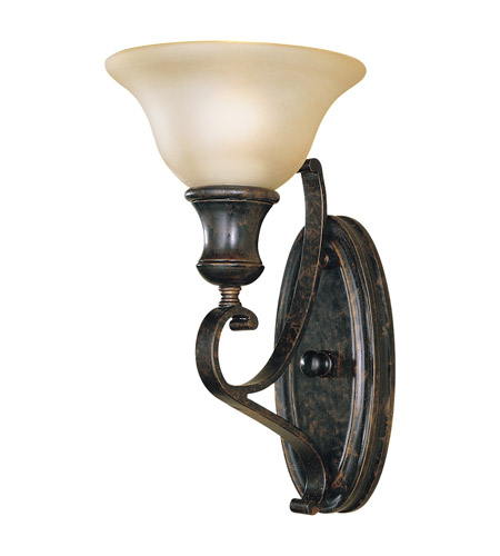 Feiss WB1240LBR Cervantes 1 Light 7 inch Liberty Bronze Wall Sconce Wall Light photo