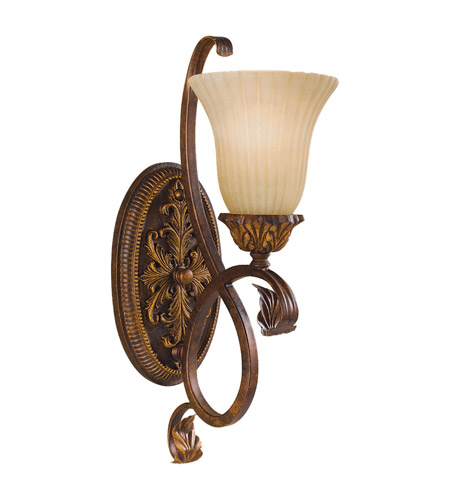Feiss WB1280ATS Sonoma Valley 1 Light 6 inch aged Tortoise Shell Wall Sconce Wall Light photo