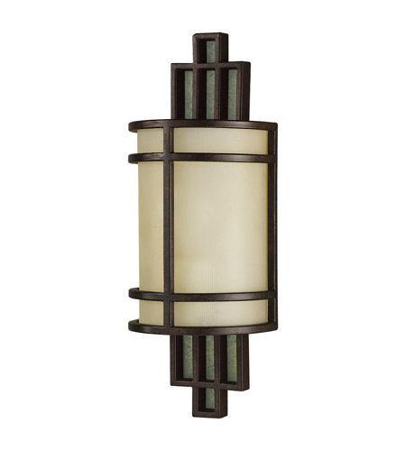 Feiss WB1283GBZ Fusion 1 Light 6 inch Grecian Bronze ADA Wall Sconce Wall Light in Standard photo