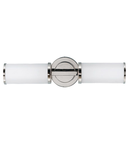 Feiss WB1334PN Industrial Revolution 2 Light 20 inch Polished Nickel Wall Sconce Wall Light in Standard photo