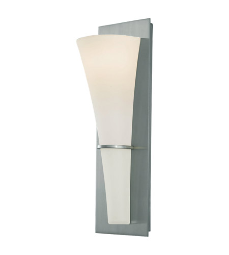 Feiss WB1341BS Barrington 1 Light 5 inch Brushed Steel ADA Wall Sconce Wall Light photo