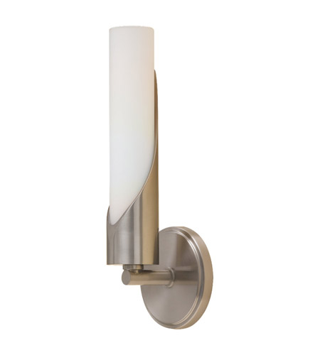 Feiss Hallie 1 Light Wall Sconce in Brushed Steel WB1409BS photo