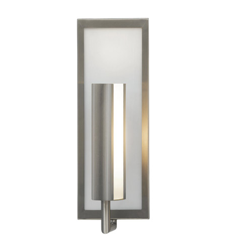 Feiss Mila 1 Light Wall Bracket in Brushed Steel WB1451BS photo