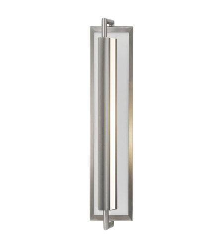 Feiss WB1452BS Mila 2 Light 5 inch Brushed Steel Wall Sconce Wall Light photo