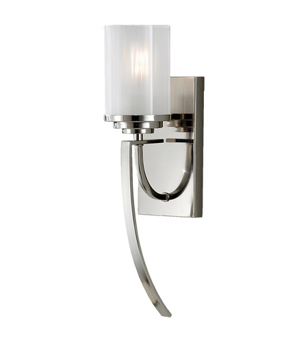 Feiss Finley 1 Light Wall Sconce in Polished Nickel WB1561PN photo