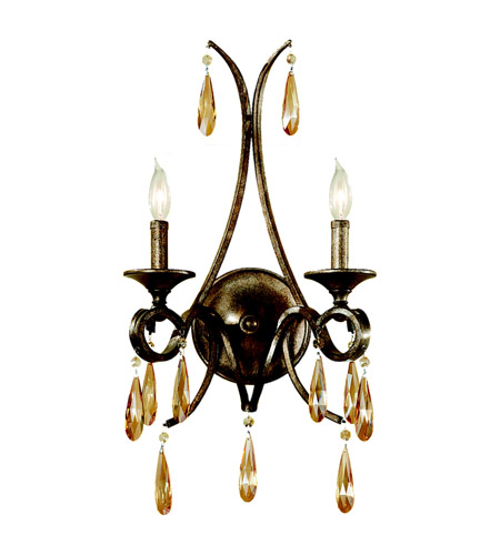 Feiss WB1563GIS Reina 2 Light 13 inch Gilded Imperial Silver Wall Sconce Wall Light photo