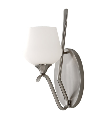 Feiss Merritt 1 Light Wall Sconce in Brushed Steel WB1569BS photo