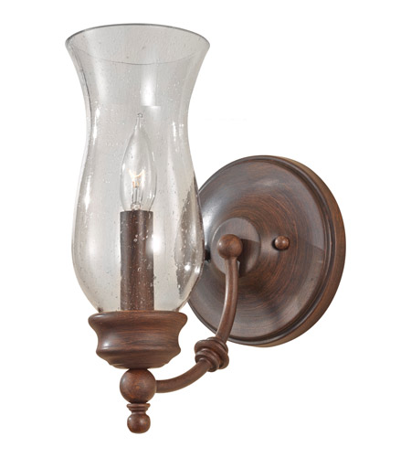 Feiss WB1597HTBZ Pickering Lane 1 Light 6 inch Heritage Bronze Wall Sconce Wall Light photo