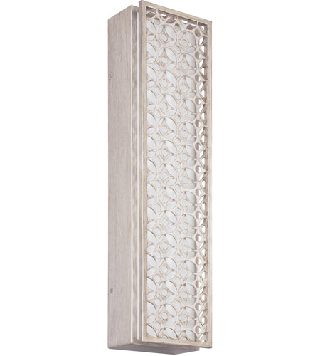 Ada Wall Sconces Led : Feiss WB1821SRS-LED Kenney LED 6 inch Sunrise Silver ADA Wall Sconce Wall Light