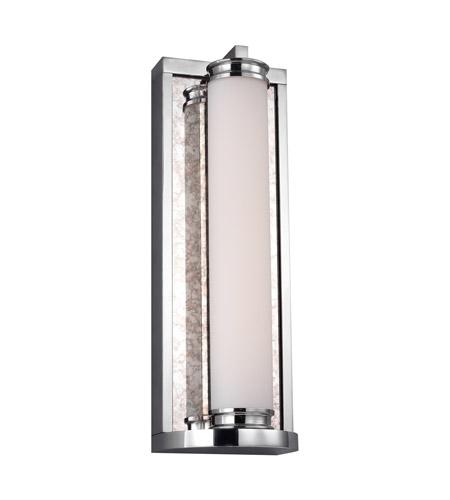Feiss Wb1838ch Led Khoury Led 5 Inch Chrome Vanity Light Wall Light
