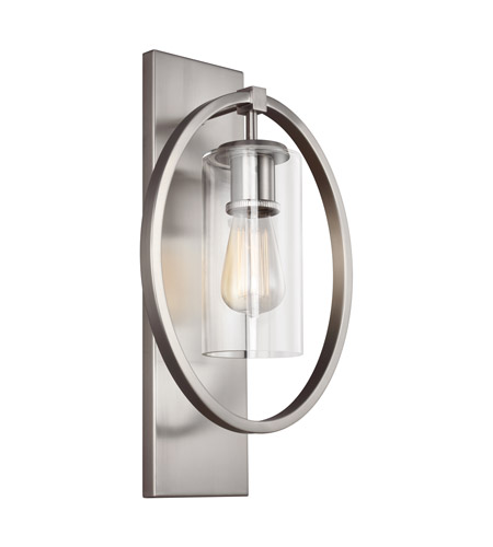 Feiss wb1846ch marlena 1 light 11 inch chrome vanity light wall light aloadofball Image collections