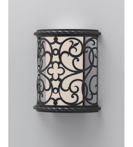 Feiss Costa Del Luz 1 Light Outdoor Wall Sconce in Black ODWB4820BK photo