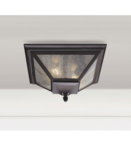 Homestead 2 Light Outdoor Ceiling Lights in Oil Rubbed Bronze OL1013ORB