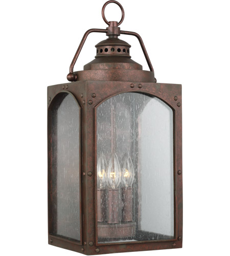 Feiss OL14372CO Randhurst 20 inch Copper Oxide Outdoor Wall Lantern photo thumbnail