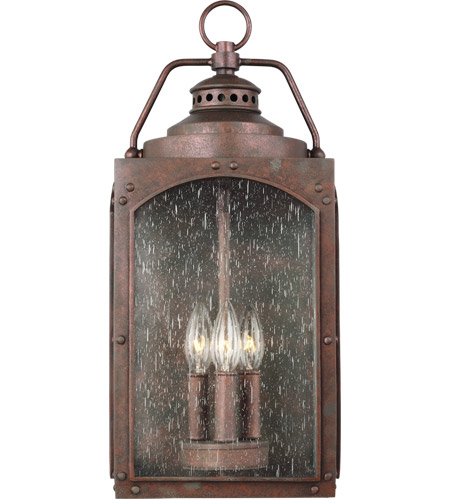 Feiss OL14372CO Randhurst 20 inch Copper Oxide Outdoor Wall Lantern alternative photo thumbnail