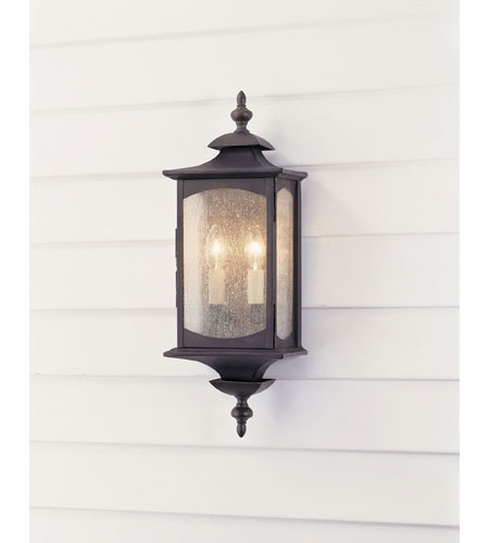 Murray Feiss Outdoor Lighting: Feiss Market Square 2 Light Outdoor Wall Sconce In Oil