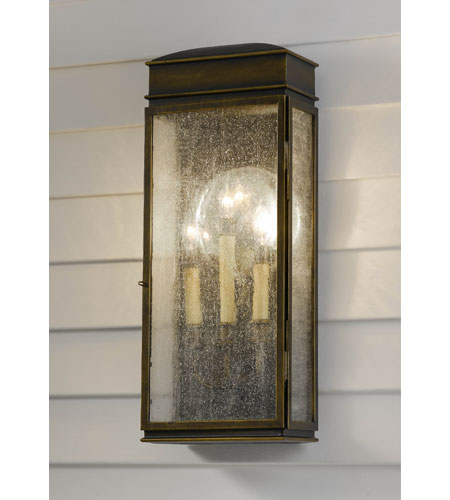 Feiss Whitaker 3 Light Outdoor Wall Bracket in Astral Bronze OL7402ASTB photo