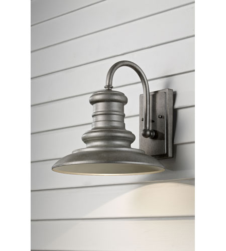 Feiss Redding Station 1 Light Outdoor Wall Sconce in Tarnished OL8601TRD photo