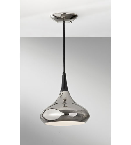 Feiss P1253PN Belle 1 Light 10 inch Polished Nickel Mini Pendant Ceiling Light in Standard photo