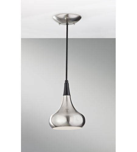 Feiss P1254BS Belle 1 Light 7 inch Brushed Steel Mini Pendant Ceiling Light photo