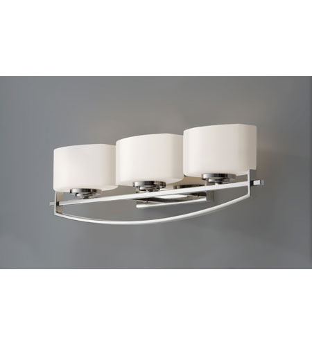 Feiss Bleeker Street 3 Light Vanity Strip in Polished Nickel VS18203-PN photo