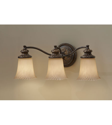 Murray Feiss Bathroom Lighting: Feiss Emma 3 Light Vanity Strip In Grecian Bronze VS19503-GBZ