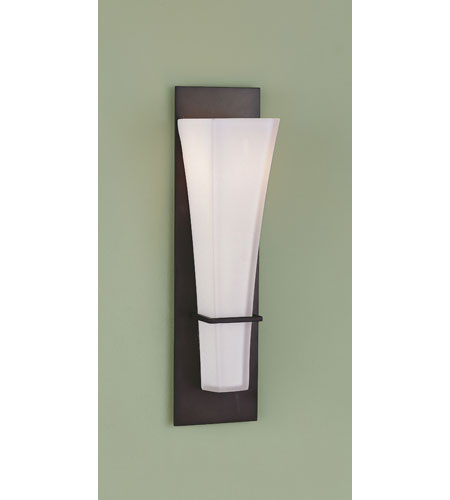 Murray Feiss Wall Sconces: Feiss WB1220ORB Boulevard 1 Light 4 Inch Oil Rubbed Bronze