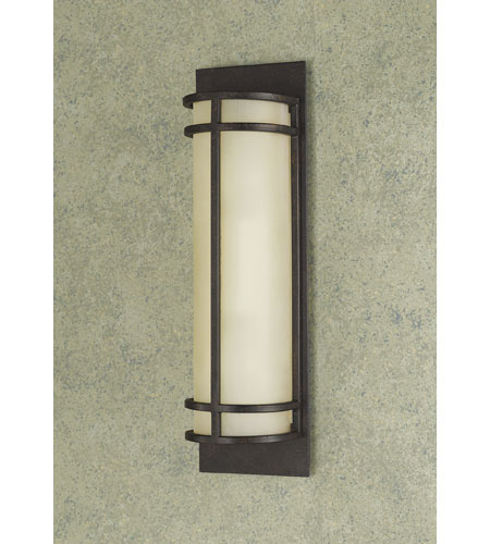 Feiss WB1282GBZ Fusion 2 Light 5 inch Grecian Bronze ADA Wall Sconce Wall Light in Standard photo