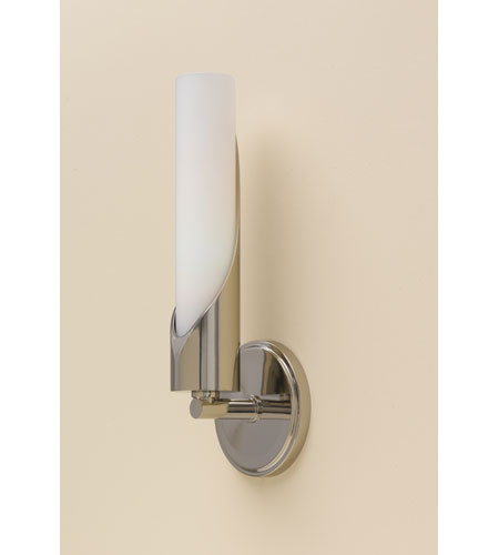 Feiss Hallie 1 Light Wall Sconce in Polished Nickel WB1409PN photo