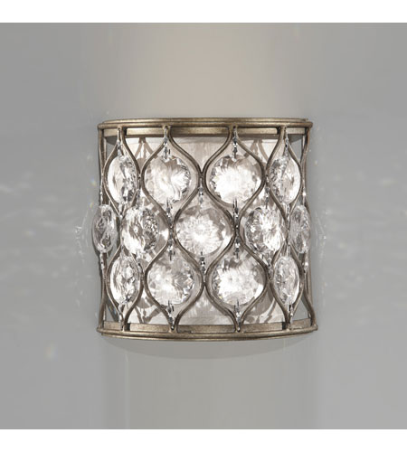 Feiss Aluminum Glass Wall Sconces
