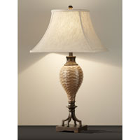 Feiss Independents 1 Light Table Lamp in Ochre Glazed Ceramic 10035OGC alternative photo thumbnail