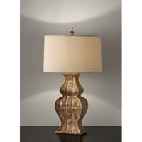 Feiss Gifford 1 Light Table Lamp in Harvest Gold 10105HG