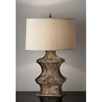 Feiss Gifford 1 Light Table Lamp in River Stone 10106RS