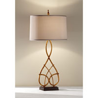 Feiss Brielle 1 Light Table Lamp in Firenze Gold 10114FG