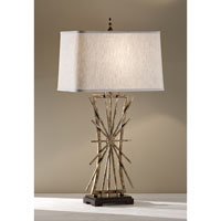 Feiss Atticus 1 Light Table Lamp in Poly Chrome Iron and Ebony 10120PCI/EBY alternative photo thumbnail