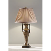 Feiss Cordelia 1 Light Table Lamp in Stone 10128STN
