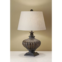 Feiss Antica Ceramica 1 Light Table Lamp in Antique Black 10147AK alternative photo thumbnail