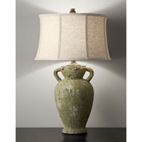 Feiss Garden Relic 1 Light Table Lamp in Mossy Stone 10162MSN
