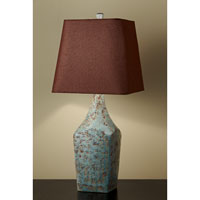 Feiss Antica Ceramica 1 Light Table Lamp in Jadeite 10163JDT