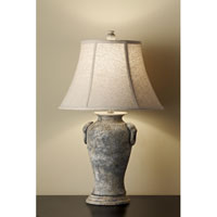 Feiss Garden Relic 1 Light Table Lamp in Weathered Stone 10169WS alternative photo thumbnail