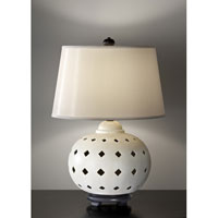 Feiss Ceramica 1 Light Table Lamp in Ivory 10176IV alternative photo thumbnail