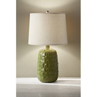 Feiss Ceramica 1 Light Table Lamp in Jadeite 10177JDT