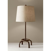 Feiss Edgemont 1 Light Table Lamp in Spice 10178SP