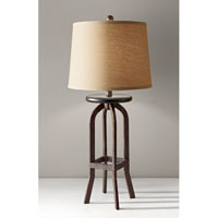 Feiss Kemster 1 Light Table Lamp in Spice 10179SP alternative photo thumbnail