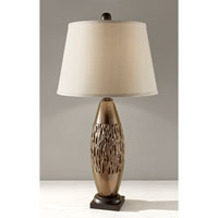 Feiss Hadden 1 Light Table Lamp in Metallic Copper 10189MTC