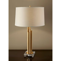 Feiss Dorset 1 Light Table Lamp in Dark Coffee Bronze 10193DCB