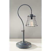 Feiss Urban Renewal 1 Light Table Lamp in Antique Forged Iron 10194AF